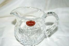 Gorham Crystal Floral Garden Creamer - $18.01