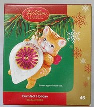 "Heirloom Ornament Collection ""Purr-fect Holiday Dated 2004"" - $12.86"