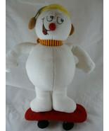 "Frosty the Snowman 12"" Christmas Plush on Skateboard by Good Stuff - $14.84"