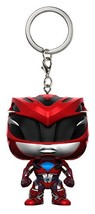 Funko Pop Keychain: Power Rangers Red Ranger Toy Figure - $7.23