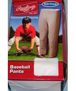 RAWLINGS NEW Youth Baseball Pants White XL Sports Stretch Little League ... - $10.00