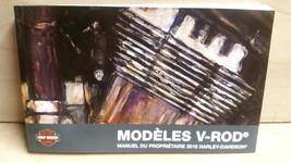 2016 Harley Davidson VRSC V-ROD Models FRENCH Owner's Manual 99736-16FR - $30.67
