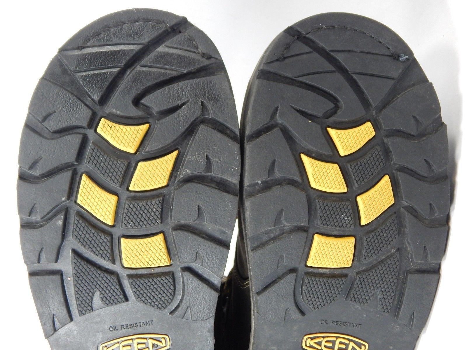"Keen Tacoma 8"" XT CSA Size 9 2E WIDE EU 42.5 Water Shock Proof Steel Toe Boots"