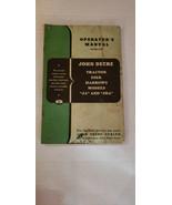 John Deere Models JA and JBA tractor disk harrow operators manual - $12.11