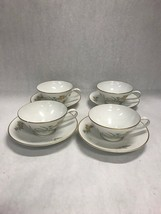 Rosenthal Sommerbluten Summer Blossoms set 4 coffee tea cup saucer vintage - $39.59