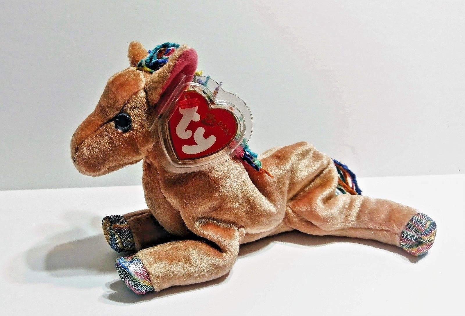 9f0f5682f9653c 57. 57. Ty Beanie Baby 2000 Zodiac Collection Horse Plush Stuffed Animal  With Tag · Ty Beanie Baby ...