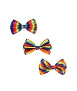 Most Popular 3 Packs Rainbow Bowtie Gay Pride By Corner4Shop - $12.19