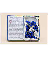 SAINT PEREGRINE PRAYER/SUFFERING WITH CANCER - Rosary - $23.95