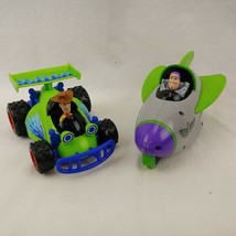 Lot Woody Car Toy Story 3 Buzz Lightyear Shake N Go Taking Motion Spaces... - $29.69