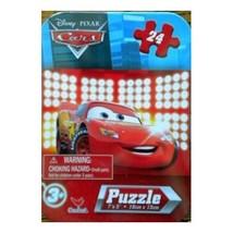 Disney's Pixar Car's 24 Piece Puzzle in Tin 7 x 5 - $9.99