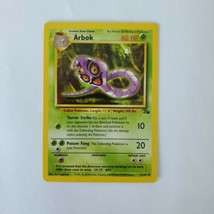 Pokemon Fossil Arbok LP 31/62 TCG Trading Card Game 1999 Unlimited - $0.99