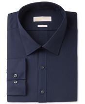 NEW MENS MICHAEL KORS NON IRON HOUNDSTOOTH NAVY BLUE DRESS SHIRT 15 1/2 ... - €25,75 EUR
