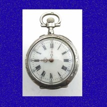 Mint Vintage 2-Colour Gold and Silver 15  Jewel  Longines  Pocket Watch 1890 - $338.76