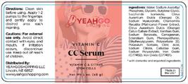 YEAHGOSHOPPING CC SERUM WITH VITAMIN C & CITRUS STEM CELLS - 1oz (28g)  image 4