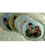 Avon Mother's Day Plates (5) 1983-1990 Children Playing Decorated & Fire... - $11.39