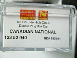 Micro-Trains # 99301870 Canadian National 60' High Cube Boxcar 3/Pack N-Scale image 9