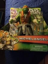 """Michelangelo Teenage Mutant Ninja Turtles 11"""" Movie Figure Playmates 201... - $35.00"""
