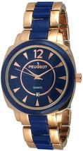 Peugeot Women Quartz Wrist Watch with Acrylic Links Bracelet - $172.53