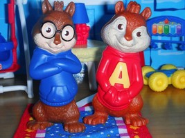 Alvin & Simon Chipmunks Figurines doll fits Fisher Price Loving Family D... - $7.99