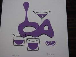 Shag - Juniper Berry Jetsetter Tiki Mug Serigraph Print 18/200 - $90.00