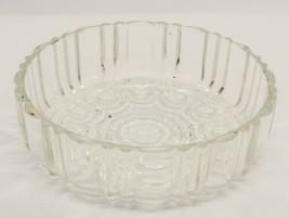 "Cut Glass Crystal Clear Nut Candy Relish Desert Bowl Dish 6"" dis. 2"" Tal... - $8.55"