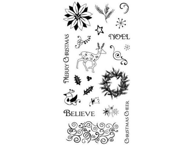 Cloud 9 Design Christmas Joy Stamp Set #01-003723