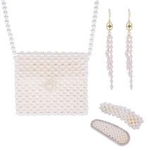 Women's Jewelry Set Imitation Pearl Accessories - $30.99