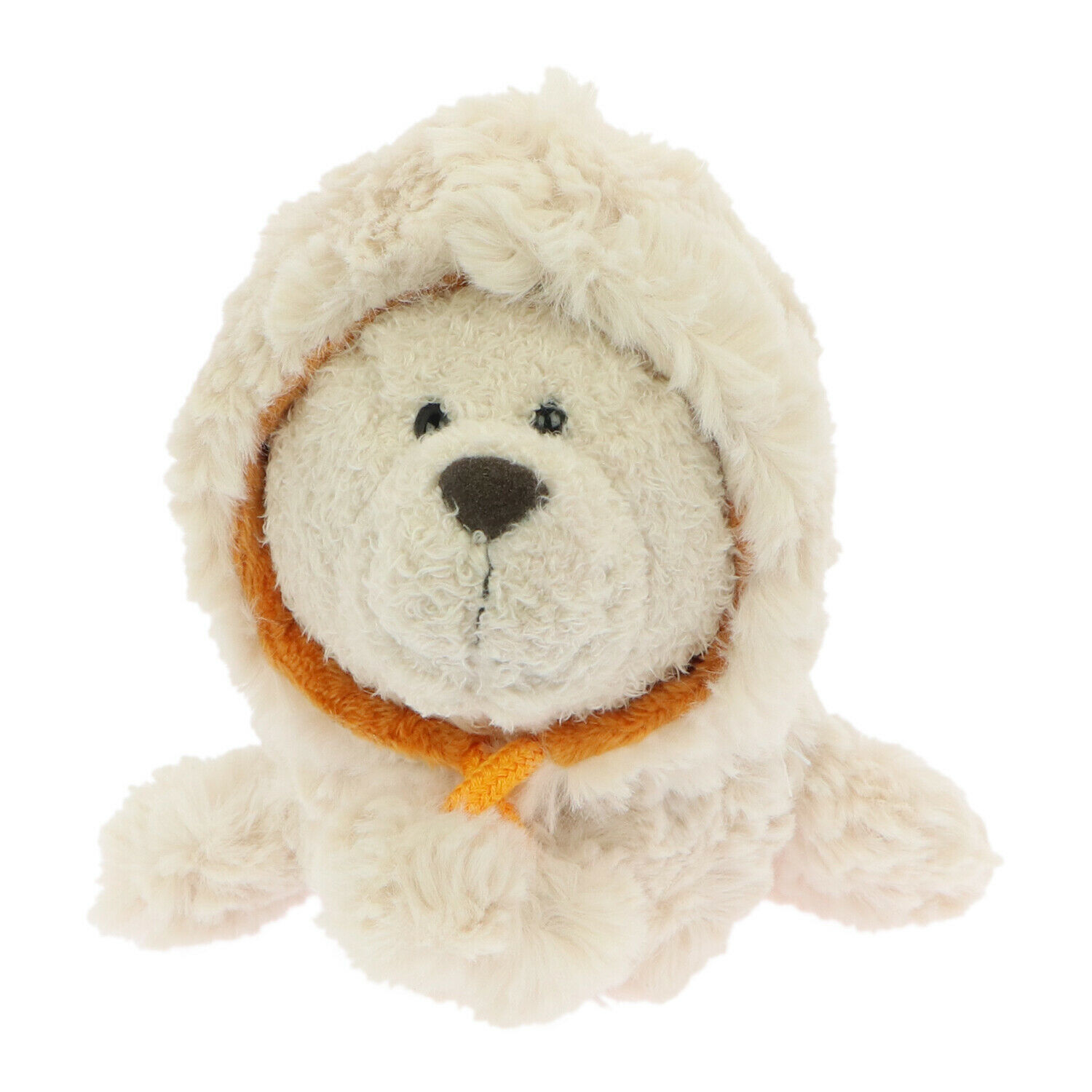 Primary image for NICI Seal Cozylou Beige with Hood Plush Toy 8 inches 20 cm