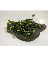 Keen Newport H2 Sport Water Hiking Sandals Black Green 1009965 Youth Size 5 - $31.63