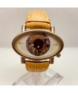 """EYE"" catching Gago Eye Museum Watch, Japanese quartz movement - $68.00"