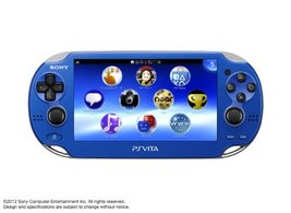 PlayStation Vita, WiFi Sapphire Blue, Japanese Version [video game] - $115.45