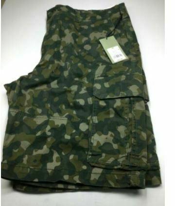 Goodfellow & Co. Men's Cargo Shorts 11.0 Green Camo Size 42