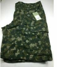 Goodfellow & Co. Men's Cargo Shorts 11.0 Green Camo Size 42 image 1