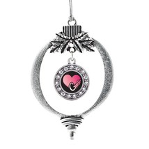 Inspired Silver Gma Circle Holiday Decoration Christmas Tree Ornament - $14.69