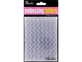 Paper Studio A2 Embossing Folders,  Please select