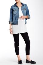 New Womens NWT 185 Designer USA Maternity James Jeans Twiggy Crop Pants ... - $74.00