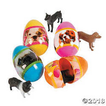 Puppy-Filled Plastic Easter Eggs - $12.49