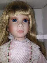 New 1993 Effanbee Doll Named Kimberly 16 1/2 Inches Tall. - $116.88