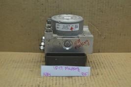 15-17 Ford Mustang ABS Pump Control OEM FR3C2C405BE Module 215-16B4 - $48.49