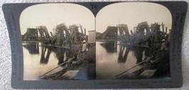 Keystone Stereoview #76 French Machinery Panama Canal near mint conditio... - $4.99