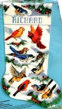 Bucilla Birds of Winter Snow Christmas Holiday Needlepoint Stocking Kit ... - $172.95