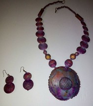 Vintage Beautiful 3 Piece Set - Necklace and Earrings - $24.75