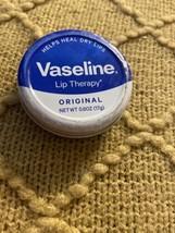 Vaseline Lip Therapy Original  Lips  0.6 oz 17g New - $5.66