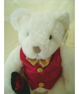 Adorable White Teddy Bear, Perfect Gift for Someone Special! - $25.00