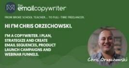 Chris Orzechowski Email Copy Academy - $4.76