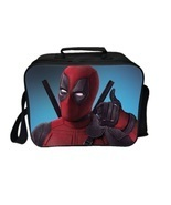 Deadpool Lunch Box Summer Series Lunch Bag Pattern A - $458,76 MXN