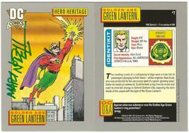 1991 DC Comic SIGNED Mart Nodell Golden Age Green Lantern / JSA Art Card - $49.49