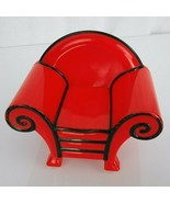 """Blues Clues 3"""" RED THINKING CHAIR HOUSE plastic pvc toy REPLACEMENT - $19.79"""