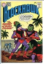 BLACKHAWK #171 1962-DC-ALIEN ISLAND-vg - $25.22