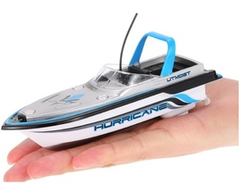 Mini Hi Speed Electric Radio Control RC Boat HURRICANE 777-218 Double Pr... - $26.68